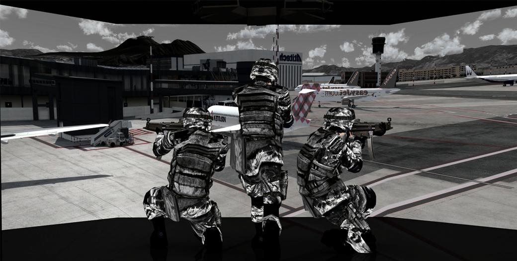 Multi-Screen Advance Training Shooting Simulator (ATSS)
